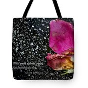 Faded Rose - Youth And Age Tote Bag