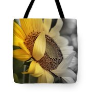 Faded Sunflower Tote Bag