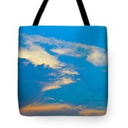 Fading Clouds Tote Bag