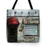 Fading Facade Tote Bag