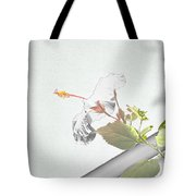 Fading Flower Tote Bag