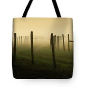 Fading Into The Fog Tote Bag