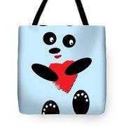 Fading Like A Flower. Panda In Love. 02 Tote Bag