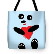 Fading Like A Flower. Panda In Love. 02 Tote Bag