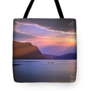 Fading Of The Light Tote Bag by Edmund Nagele