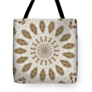 Fading Poem Mountain Tote Bag