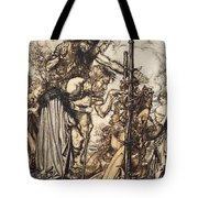 Fafner Hey! Come Hither, And Stop Tote Bag