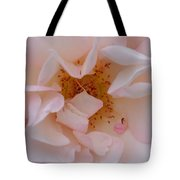 Faintly Pink - Rose Tote Bag