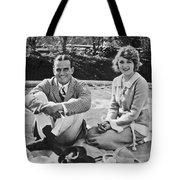 Fairbanks And Pickford Tote Bag