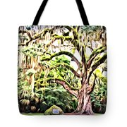 Fairchild Painted Tote Bag