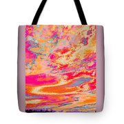 Fairgrounds Sky Tote Bag