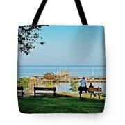 Fairhope Alabama Pier Tote Bag