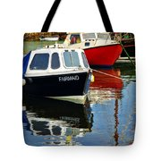Fairmaid At Mousehole Harbour Tote Bag