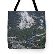 Fairmont Banff Springs Hotel And Golf Course Tote Bag