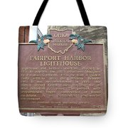 Fairport Harbor Lighthouse Tote Bag