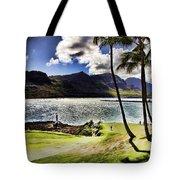 Fairway In Paradise Tote Bag