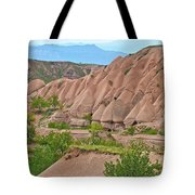 Fairy Chimneys In The Making In Cappadocia-turkey Tote Bag