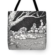 Fairy Circle Tote Bag
