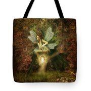 Fairy Forest Lake Tote Bag