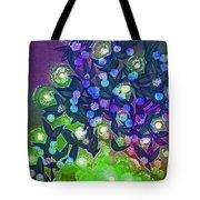 Fairy Light Garden Green By Jrr Tote Bag
