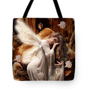 Fairy Of The Key Tote Bag
