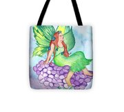 Fairy On Lilac Tote Bag