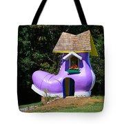Fairy Tale Shoe House Tote Bag