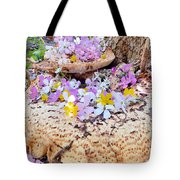Fairy Trumpets Tote Bag