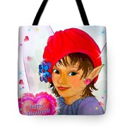 Fairy Valentine Tote Bag