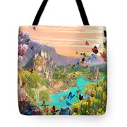 Fairy Valley Tote Bag