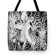 Fairy Walks In Flowers Tote Bag