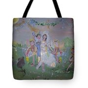 Fairy Wedding Tote Bag