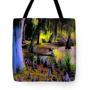 Fairyland Of Gnomes Tote Bag