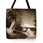 Fairytale Castle Tote Bag