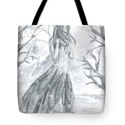 Fairytale Winter Tote Bag