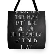 Fait Hope Love Tote Bag