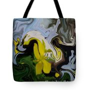 Faith In Bloom Tote Bag