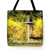 Faith In Spring Tote Bag