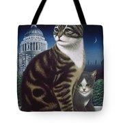 Faith, The St. Paul's Cat Tote Bag
