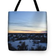Fajada Sunset Tote Bag