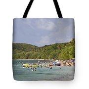 Fajardo Beach In  Puerto Rico Tote Bag