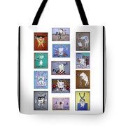 Falboart Tooth Chart Tote Bag