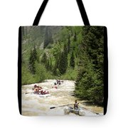 White Water Rafting On The Animas Tote Bag