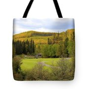 Fall At The Course Tote Bag