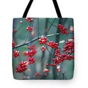 Fall Berries Tote Bag