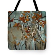 Fall Branches With Deer Tote Bag