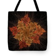 Fall Burst Tote Bag