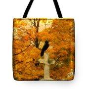 Fall Burst Tote Bag