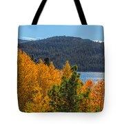Fall Color At Caples Lake Tote Bag