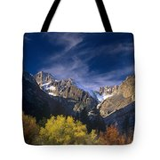 Fall Color Below Middle Palisades Glacier Eastern Sierras California Tote Bag